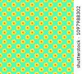 vector illustration. floral... | Shutterstock .eps vector #1097988302