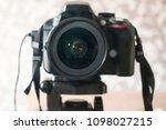 camera black for shooting | Shutterstock . vector #1098027215