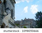 medieval village in france | Shutterstock . vector #1098050666