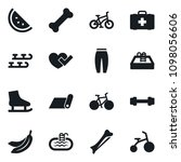 set of simple vector isolated... | Shutterstock .eps vector #1098056606