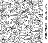 vector seamless pattern with... | Shutterstock .eps vector #1098072842