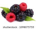 Blackberries With Raspberries...