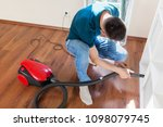 household  housework and... | Shutterstock . vector #1098079745