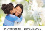 family  motherhood and people... | Shutterstock . vector #1098081932