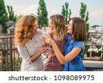 girls party. beautiful women... | Shutterstock . vector #1098089975