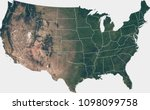 large  120 mp  satellite image... | Shutterstock . vector #1098099758