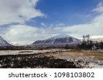 glen etive and the black rock...   Shutterstock . vector #1098103802