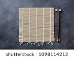Sushi Roll Bamboo Mat With...