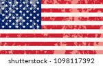 usa flag. flag of the united... | Shutterstock .eps vector #1098117392