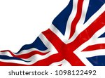 waving flag of the great... | Shutterstock . vector #1098122492