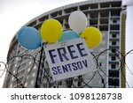 odessa  ukraine   may 24  free...   Shutterstock . vector #1098128738