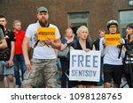 odessa  ukraine   may 24  free... | Shutterstock . vector #1098128765