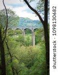 pontcysyllte aqueduct carrying...   Shutterstock . vector #1098130682