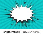 clear empty boom comic text... | Shutterstock .eps vector #1098144848