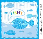 something is fishy here   Shutterstock .eps vector #109819166