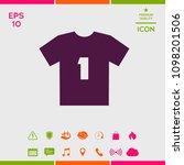 men's sport t shirt icon   the... | Shutterstock .eps vector #1098201506