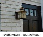 house lamp outside vintage | Shutterstock . vector #1098204002