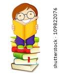vector illustration of school...   Shutterstock .eps vector #109822076