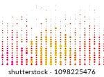 light pink  yellow vector ... | Shutterstock .eps vector #1098225476
