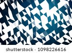 dark blue vector polygonal... | Shutterstock .eps vector #1098226616