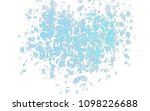 light blue vector texture with... | Shutterstock .eps vector #1098226688