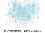 light blue vector texture with... | Shutterstock .eps vector #1098226688