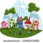 natural energy. illustration | Shutterstock .eps vector #1098253082