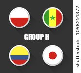 groups football world... | Shutterstock .eps vector #1098254372