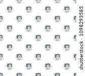 1984 photo camera pattern... | Shutterstock .eps vector #1098293585