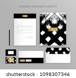 corporate identity business set....   Shutterstock .eps vector #1098307346