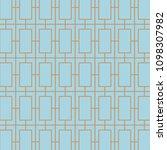 art deco  seamless  retro ... | Shutterstock .eps vector #1098307982