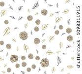 dark green  yellow vector... | Shutterstock .eps vector #1098311915