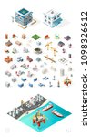 set of isolated high quality... | Shutterstock .eps vector #1098326612