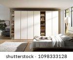interior of modern empty... | Shutterstock . vector #1098333128