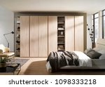 interior of modern empty... | Shutterstock . vector #1098333218