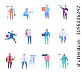 man different kinds of... | Shutterstock .eps vector #1098336242