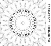 black and white pattern for... | Shutterstock . vector #1098345938