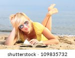 Woman Reading A Book Girl The...