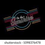 oh my sunshine  beautiful...   Shutterstock .eps vector #1098376478