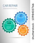 car service business...   Shutterstock .eps vector #1098403766