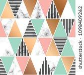 vector marble texture design... | Shutterstock .eps vector #1098409262