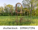 abandoned device for... | Shutterstock . vector #1098417296