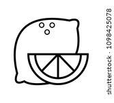 web line icon. lemon | Shutterstock .eps vector #1098425078