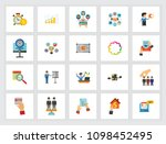 business development concept.... | Shutterstock .eps vector #1098452495