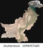 large  14 mp  satellite image... | Shutterstock . vector #1098457685