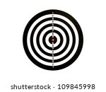 a target isolated against a... | Shutterstock . vector #109845998