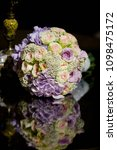 bright wedding bouquet for the... | Shutterstock . vector #1098475172