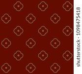 simple geometric pattern.... | Shutterstock . vector #1098475418