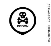 index of poisonous substances... | Shutterstock .eps vector #1098494672