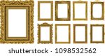 set of decorative vintage... | Shutterstock .eps vector #1098532562